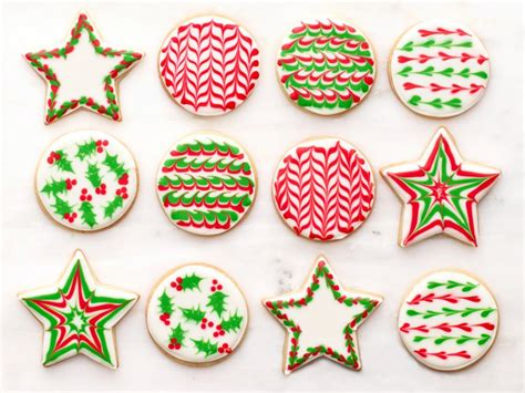 pictures of decorated christmas cookies using royal icing how to decorate sugar cookies recipes dinners and easy meal ideas food network