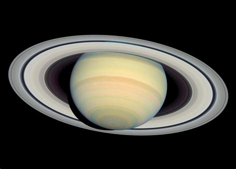 Saturn's Rings Could Have Formed when Dinosaurs Walked the ...