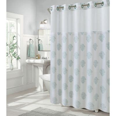 gray shower curtain buy hookless shower curtains from bed bath beyond