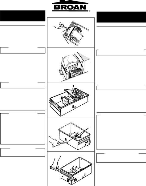 broan bathroom fan installation instructions broan 655 fan parts wiring diagrams wiring diagram schemes