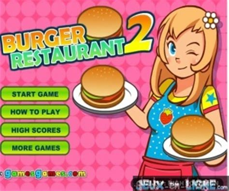 jeux de cuisine burger restaurant jeux de restaurant gratuit