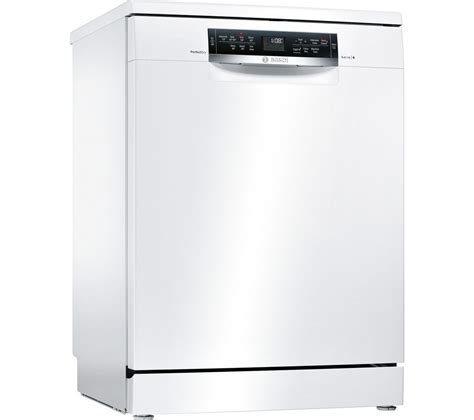 Buy BOSCH Serie 6 SMS67MW00G Full size Dishwasher   White