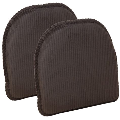 the gripper non slip avatar chair cushions set of 2