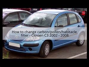 Citroen C3 2002 : how to change carbon filter habitacle filter carbon filter citroen c3 2002 2008 youtube ~ Medecine-chirurgie-esthetiques.com Avis de Voitures