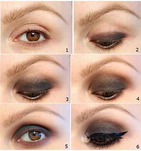 Celebrities Smokey Eyes Makeup Tutorial | Korean Contact ...