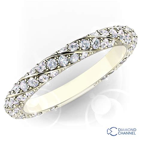 pave wedding band 0 7tcw the channel johannesburg