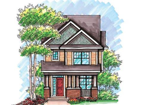 narrow lot house plan   munising house ideas