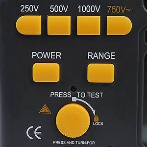 Victor Vc60b  Digital Insulation Resistance Tester Megger