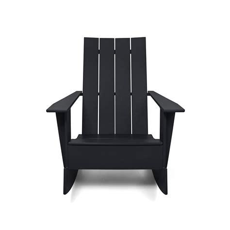 modern rocking resin adirondack chair loll designs