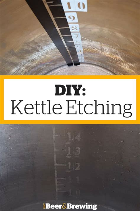 diy kettle etching home brewing beer brewing equipment