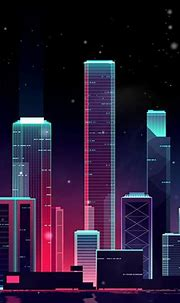 Neon Skyline Wallpaper Engine Free | Download Wallpaper ...