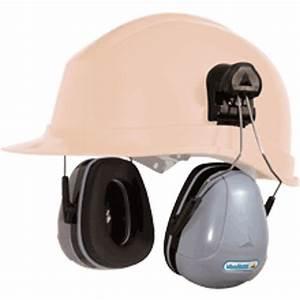 Casque De Protection Auditive : coquilles antibruit pour casque de chantier snr 32 db magny helmet ~ Melissatoandfro.com Idées de Décoration