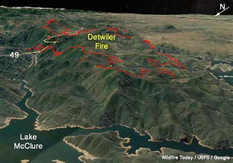 detwiler fire spreads quickly  evacuation