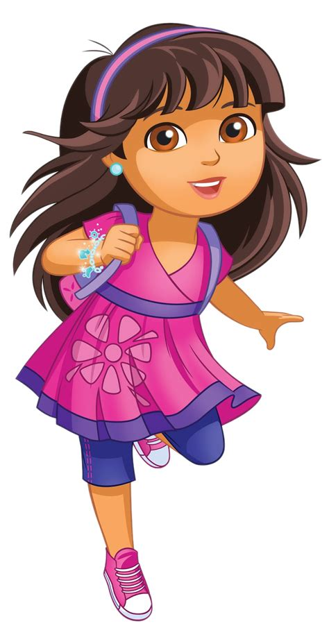 Cartoon Characters Dora And Friends Into The City Png