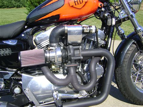 Harley Davidson Turbo by Supercharged Sportster Page 3 Harley Davidson Forums
