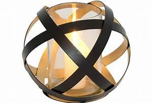 Gartenlaterne Groß Metall : holl nder windlicht la rete gross metall schwarz innen gold glas ~ Frokenaadalensverden.com Haus und Dekorationen