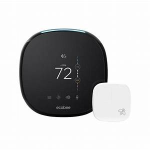 Ecobee 4 Smart Thermostat With Room Sensor And Built