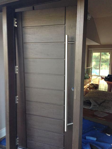 modern contemporary front fiberglass door