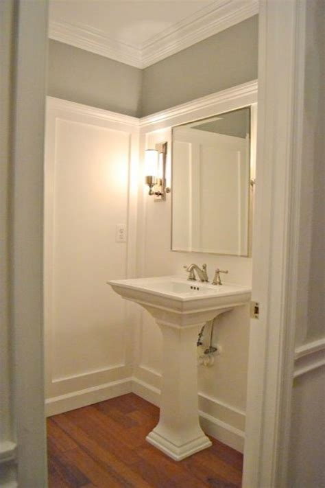 sixteen fourteen gorgeous bathroom with gray walls paint