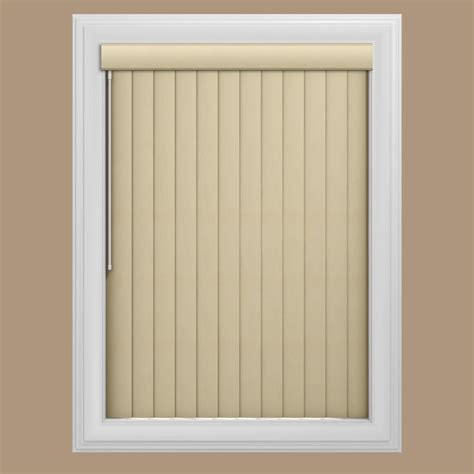 bali blinds shades bali window treatments bali bali white 3 5 in pvc vertical blind 78 in w x 84 in l