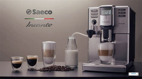 Incanto Automatic Milk Frother super automatic espresso machine HD8914 by Saeco (Highlights