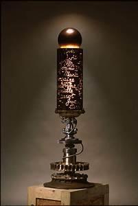 Lampe Industrial Style : lampe en mat riaux recycl e par bruno gerard lampiste industrial style pinterest lights ~ Markanthonyermac.com Haus und Dekorationen