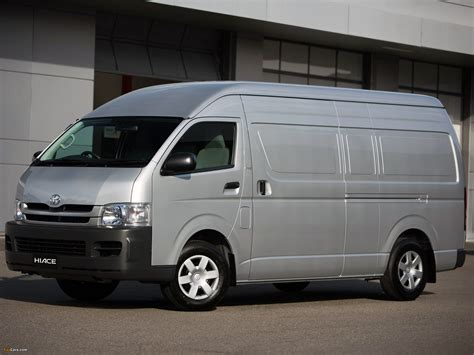 Toyota Hiace Wallpapers by Toyota Hiace Lwb High Roof Au Spec 2004 10
