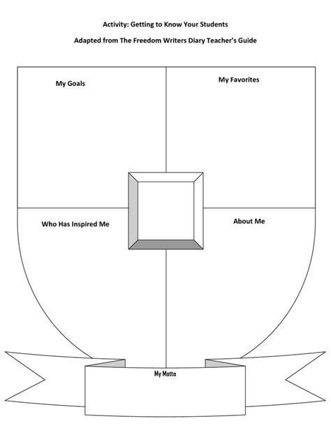 blank coat of arms template printable school