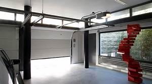 prix d39une porte de garage cout moyen tarif d With prix pose porte de garage sectionnelle motorisée