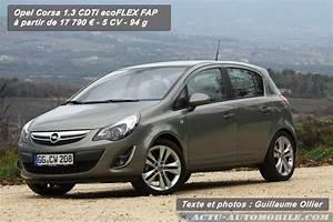 Opel Ampera Commercialisation : essai opel corsa 2011 cdti 95 start stop ~ Medecine-chirurgie-esthetiques.com Avis de Voitures