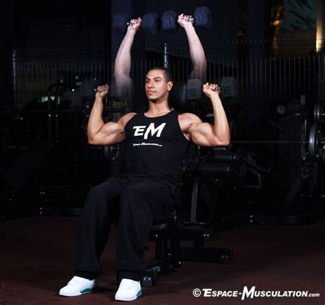 pin by espace musculation on exercices musculation
