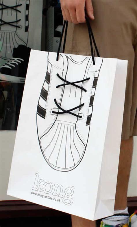 shopping bag design 40 clever and creative shopping bag designs hongkiat