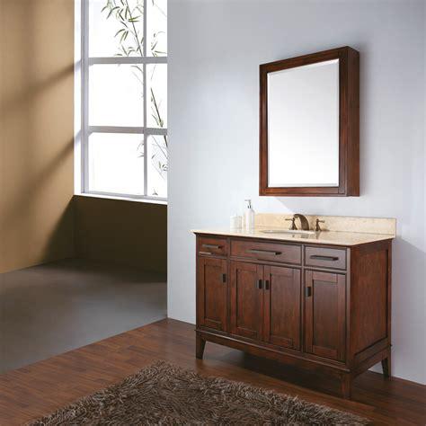 avanity madison  bathroom vanity tobacco