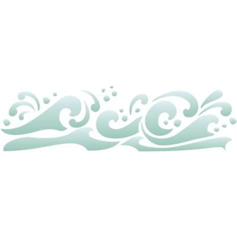 wave template 8 best images of free printable wave stencil printable waves stencil wave