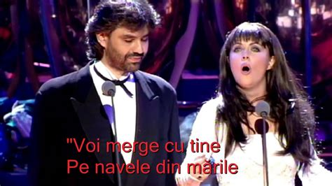 Sarah Brightman & Andrea Bocelli Time To Say Goodbye