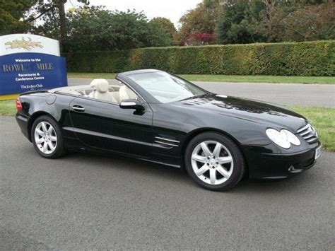 convertible mercedes black used 2004 mercedes benz convertible black edition class sl