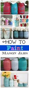 These are adorable mason jar project ideas painting glass for These diy party decorations are incredible