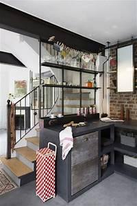 Fenetre Interieure Dans Cloison : id es d 39 installation de verri res en photod coration cuisine ~ Melissatoandfro.com Idées de Décoration
