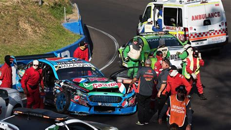 injured  supercars driver chaz mostert feared