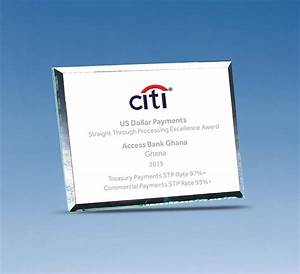 Giant Stride Recorded As Citi Bank Group Honours Access
