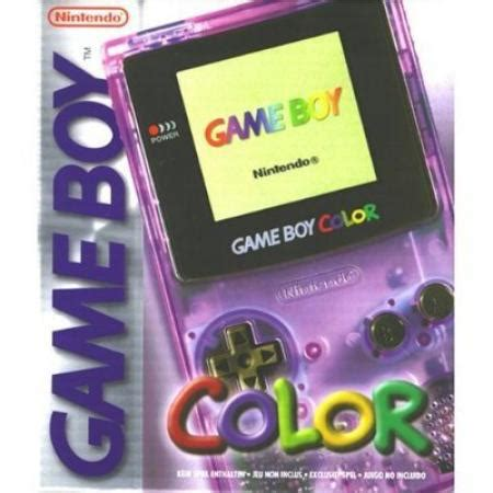 atomic purple gameboy color boy color atomic purple for boy color gamers