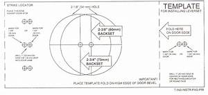 knobs etccom llc help door preparation With kwikset deadbolt template