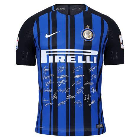 Serie A Italia: Así es la Camiseta Inter de Milán 110 Años
