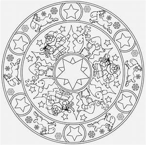 Malvorlagen Mandala Weihnachten
