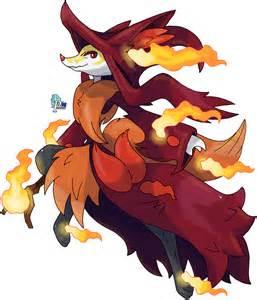 Pokemon Mega Delphox