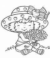 Coloring Pages Strawberry Printable Adults Printables Plant sketch template