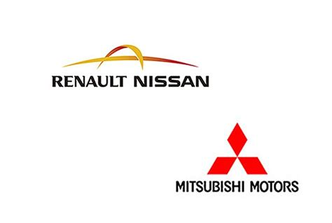 renault nissan logo mitsubishi to sell renault nissan sedans in u s news