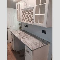 Granite Thunder White Location Wilmington, De  Set In
