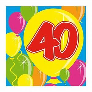 Pappteller 30 Geburtstag : cocktail servietten happy birthday bunte ballons 40 geburtstag 20er pack g nstig kaufen bei ~ Markanthonyermac.com Haus und Dekorationen
