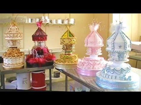 cake decorating royal icing carousel christening cakes
